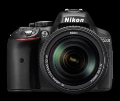Cámara Profesional Nikon D5300 con WIFI Lente 18-55mm AF-P DX NIKKOR