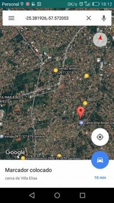 Terrenos Juntos en Villa Elisa