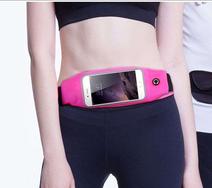 Riñonera deportiva para celulares - 1