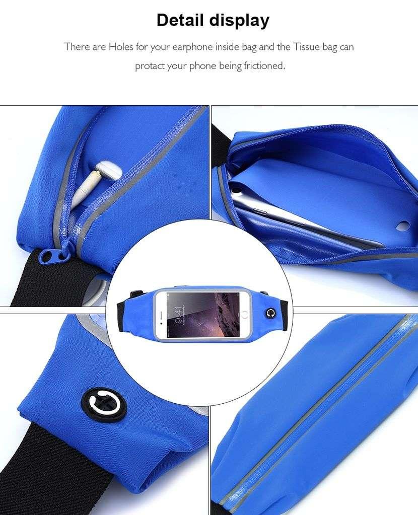 Riñonera deportiva para celulares - 5