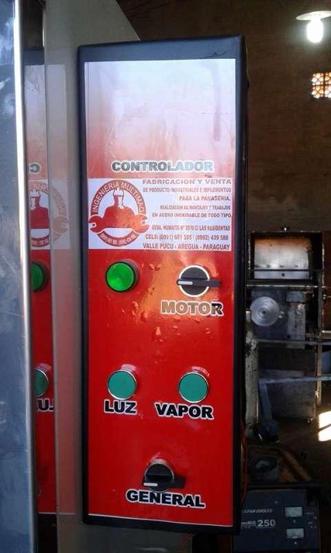 Horno Turbo Convector de 10 bandejas en Acero Inoxidable.