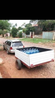 Carro tira trailers