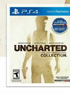 Uncharted collection digital code Ps4