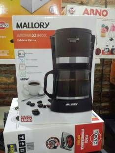 Cafetera eléctrica Mallory Aroma 32 inoxidable