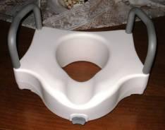 Adaptador trono para inodoro