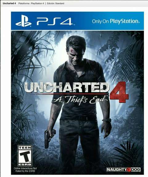 Uncharted 4 PS4 Digital Code