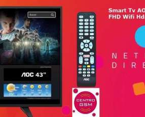Smart TV AOC 43 pulgadas nuevas en caja