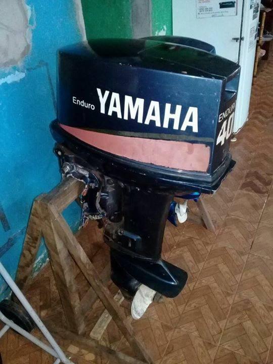 Motor fuera de borda yamaha de 40 hp gilberto cabelo for Fuera de borda yamaha