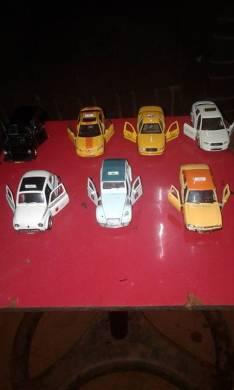 Colección de taxi antiguo