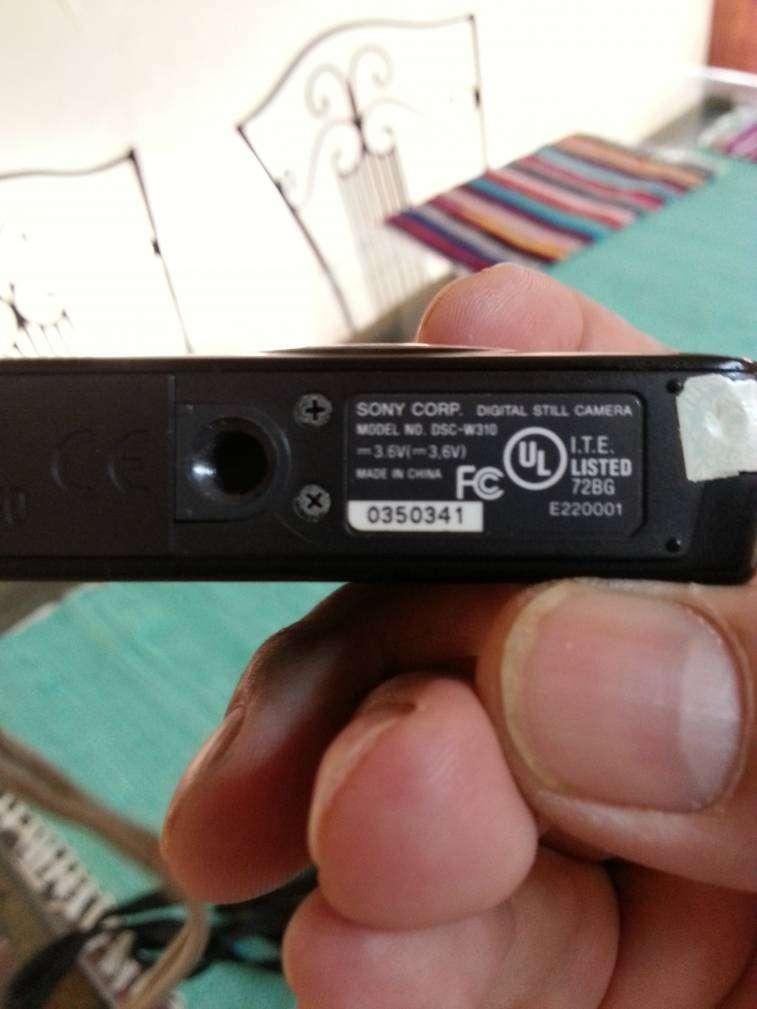 Cámara Digital Sony DSC-W310. - 2