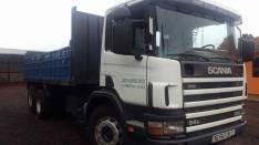 Tumba doble eje Scania 94-220