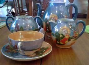 Juego japonés de té