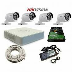 Kit 4 camatas cctv Hikvision