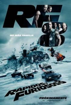 Rápido y furioso 8 DVD inglés subtitulada