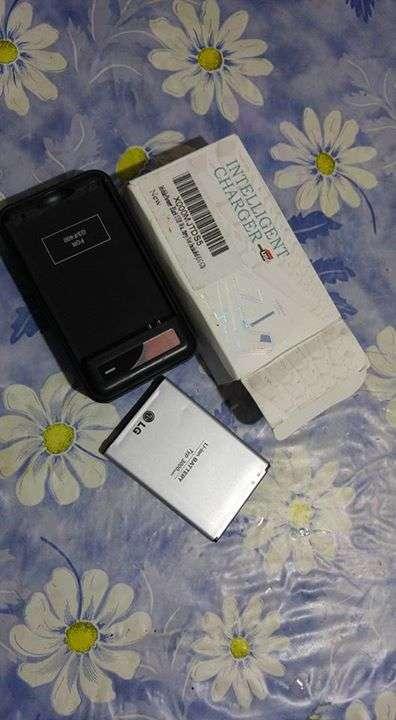 Cargador Portátil y batería LG G3 - 0
