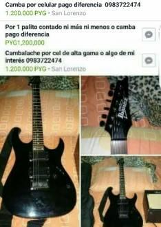 Guitarra Guio Ibanez Eléctrica