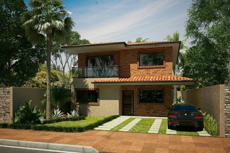 Construcci n de casas edificios lorenzo tomas for Modelo de casa quinta en paraguay