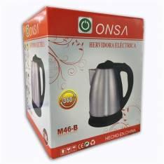 Hervidora Eléctrica para Agua de Acero Inoxidable ONSA M46-B