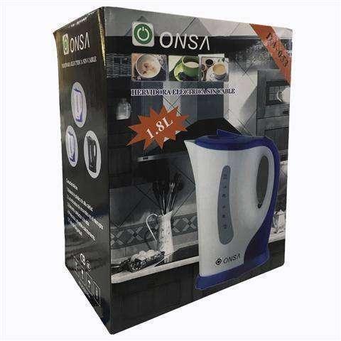 Hervidora eléctrica para agua de plástico ONSA DA-O53 - 1