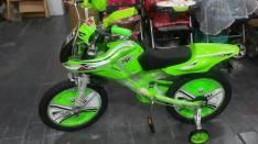 Bicicleta tipo moto