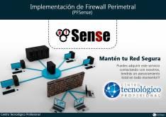 Implementación de Firewall Perímetral