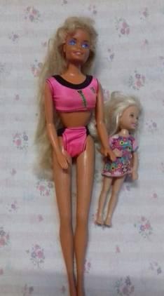 Muñeca barbie de los 90