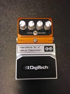Pedal de guitarra overdrive distorsión Hardwire Sc-2 Valve Distortion