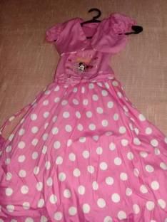 Vestido mini para 5 años