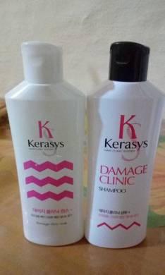 Shampoo y cremas de la línea coreana Kerasys