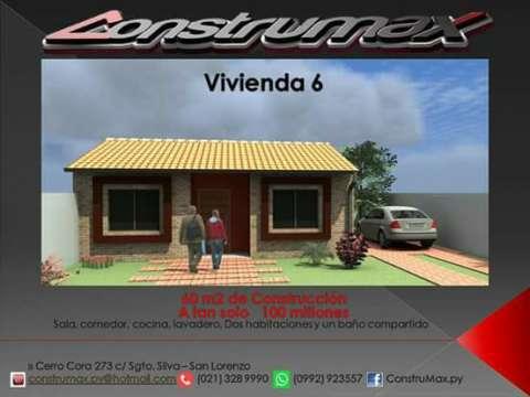 Vivienda económica en San Lorenzo