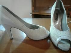 Zapato blanco calce 39
