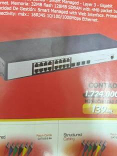 Switch web 16 puertos