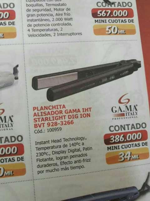 Planchita alisador gama