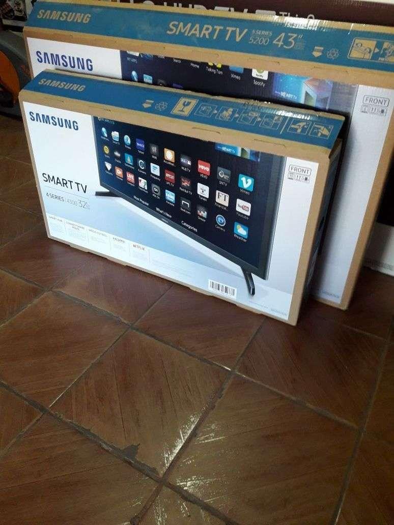 Tv led smart Samsung 32 pulgadas - 0