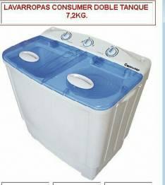 Lavarropas y secarropas financiado
