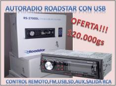 Autoradio Roadstar con usb