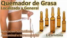 Quemador de Grasa Localizada L-Carnitina y en forma General