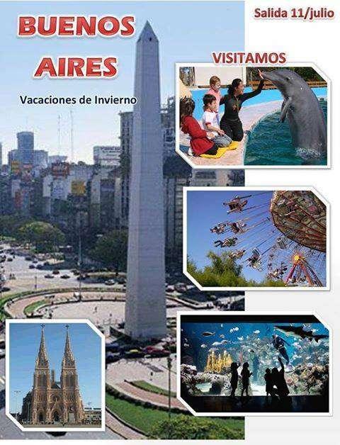 Buenos Aires en Vacaciones de Invierno