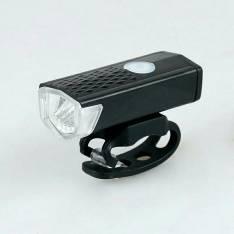 Luz led delantera recargable para bicicleta