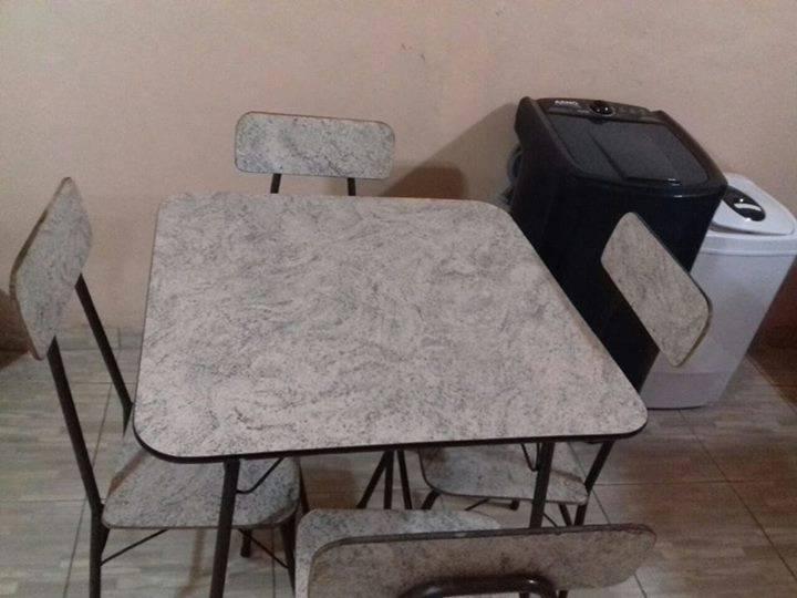 Mesa de f rmica con 4 sillas juan - Sillas formica ...