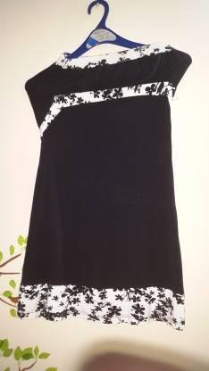 Vestido de algodón elastizado