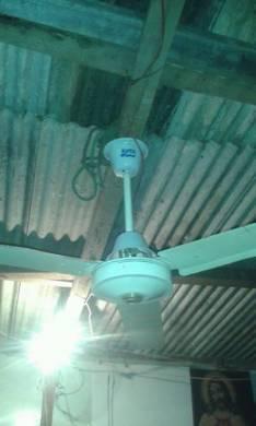 Ventilador de techo motor pesado