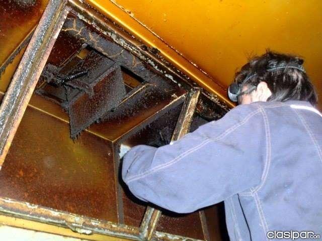 Limpieza y mantenimiento de ductos - 0