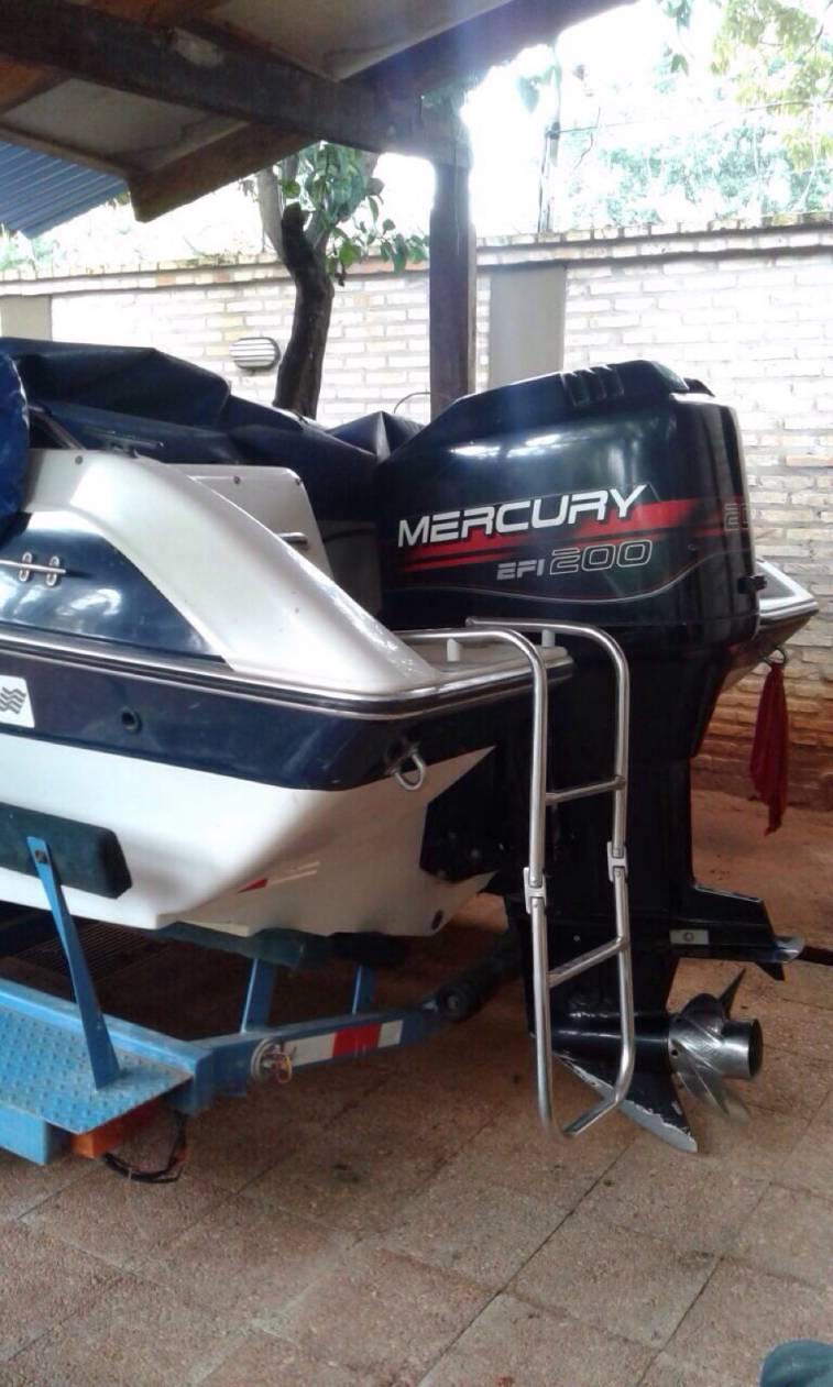 Lancha four winns motor mercury 200 hp