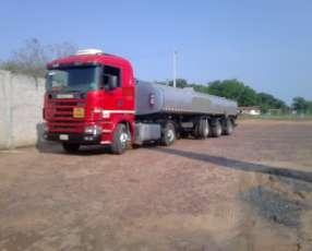 Scania 124 400 tanque 35.000 litros
