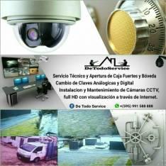 Instalacion y Mantenimiento de Camaras CCTV