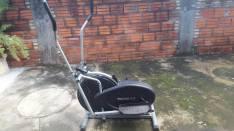 Bicicleta elíptica y abdominalera