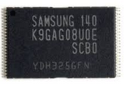 Memoria Nand Flash K9GAG08U0E-SCB0