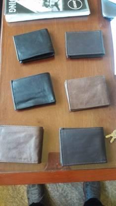 Billeteras de cuero 100% original