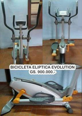 Bicicleta elíptica Evolution